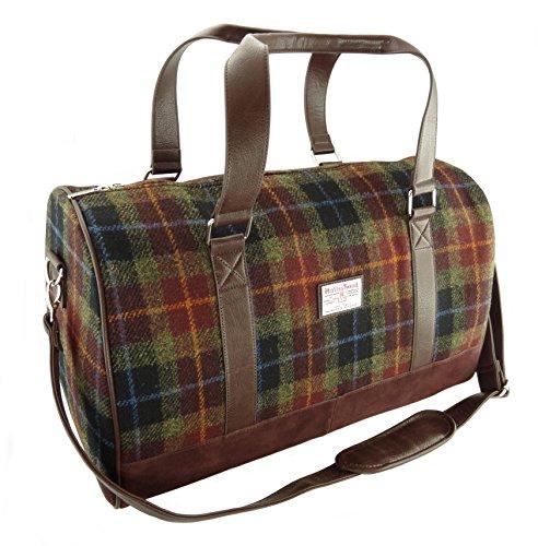 Glen Appin Authentisch Harris Tweed Reisetasche Wochenende-Reisetasche - Farbe 59, 33cm H x 52cm W x 30cm D