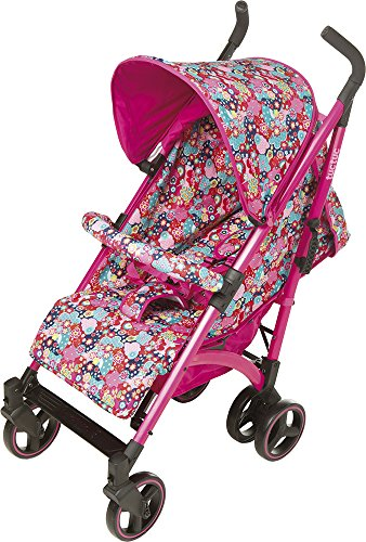 TUC TUC Girls Tuctuc Yupi Buggy Kimono Tuc Tuc The yuppie shine tuck tuck pushchair is designed for maximum comfort for both child and parents. comfortable for the baby because of the big seat and its tilt of up to 150º. Certified: from birth to 15 kg. metal-colored aluminum structure. umbrella-type folding. easily removable dual layer polyester lining. ova protective hood. recline to 150º in four positions using one hand. suspension system in 4 groups of wheels, Easy-access single brake. includes carrying handle. multi-position harness retainer with five anchor points. accessories included: rain cover, basket to carry objects, dual fabric extendible hood with visor. 2