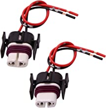 GZXY H11 H8 880 881 High Temperature Ceramic Wire Harness Socket Female Adapter for Headlight Fog Light 2 pcs