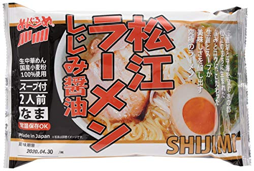 [なかたか] ラーメン 松江ラーメン しじみ醤油 320g(めん100g×2)