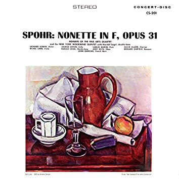 Spohr: Nonet in F Major, Op. 31 (Remastered from the Original Concert-Disc Master Tapes)