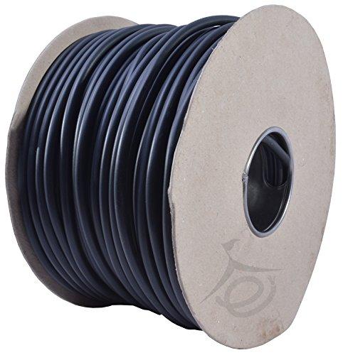 20m 3183Y 13 AMP elkabel svart rund nätkabel flex 1,5 mm 240 V 3 kärna