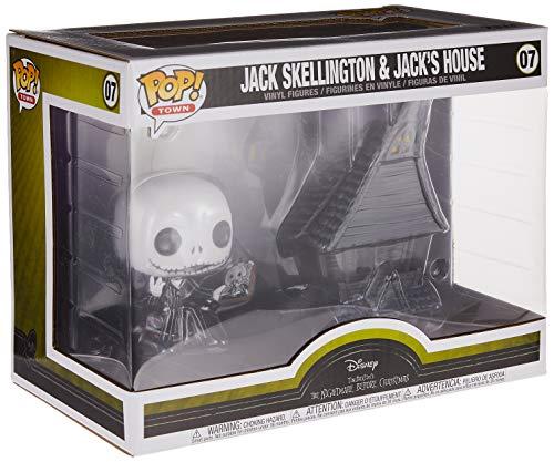 Pop! Figura De Vinil: Town: Nightmare Before Christmas - Jack - Jack's House 5