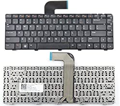 Replacement No Backlight Keyboard Compatible with Dell inspiron N4110 M4110 N4050 M4040 M5040 M5050 N5040 N5050 N4410 M411R / Vostro 3350 3450 3550 V3350 V3450 V3550 / XPS L502X Laptop