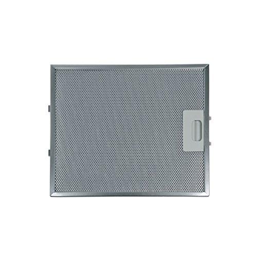 Metallgitterfilter Fettfilter rechteckig Type AFM-1 Metall 315x265mm Dunstabzugshaube Original Whirlpool Bauknecht 482000031466 Indesit Ariston Hotpoint C00280008 mit einseitiger Entriegelung