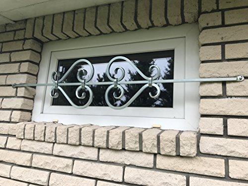 Fenstergitter Typ Saxophon (Einbruchschutz, Fenstersicherung, Fensterstange)