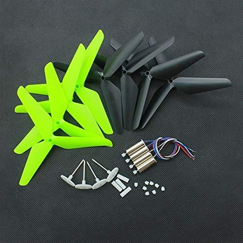 XUSUYUNCHUANG for JJRC H31 Syma x5C RC Motori droni Motore Pale aggiornamento Gear Set ricambi Accessori Drone (Color : Green)