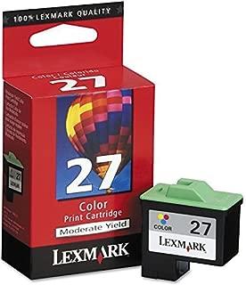Lexmark 10N0227 Ink Cartridge (27), Tri-Color - in Retail Packaging