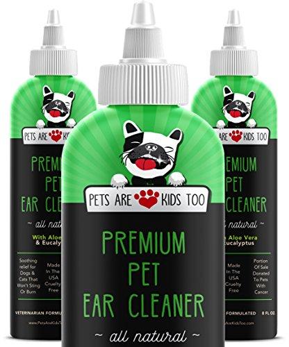 Cat & Dog Ear Cleaner Solution
