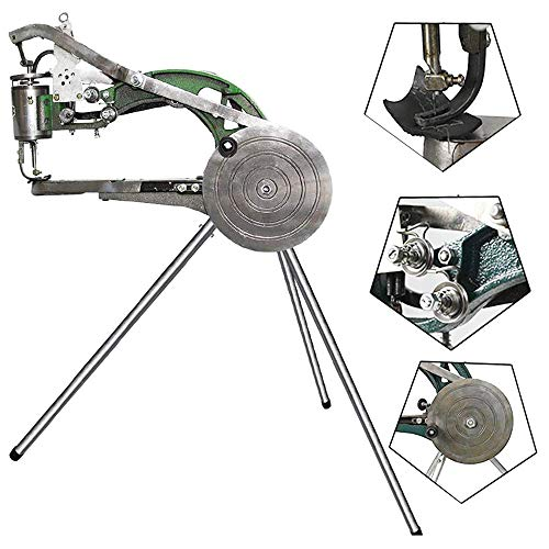 ZXMT Leather Sewing Machine Cobber Industrial Hand Heavy Duty Sewing Machine Shoe Repair Machine