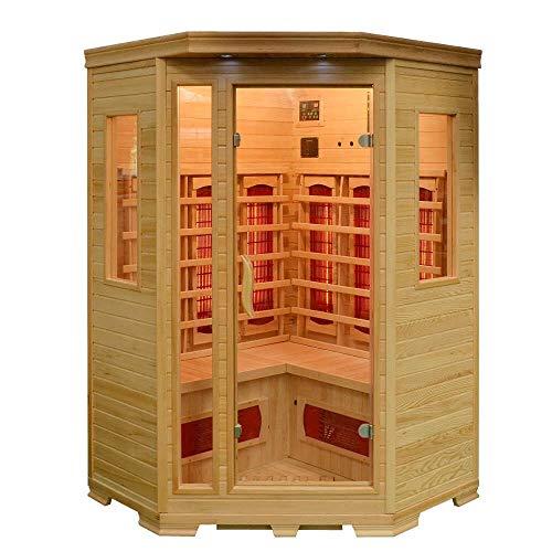 Infrarotkabine Lillesand Sauna Vollspektrumstrahler DUALTHERM Tiefenwärme Infrarot