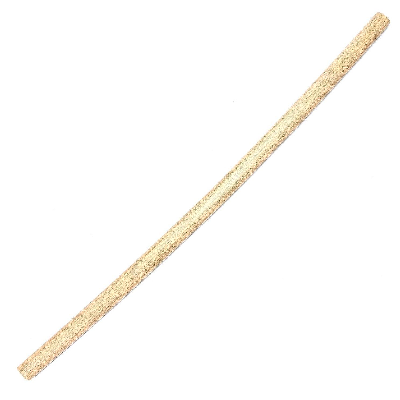 娯楽地下鉄毎日【国産木刀】白樫 楕円型素振木刀
