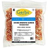 GERBS Dried Papaya Cubes, 32 ounce Bag,...