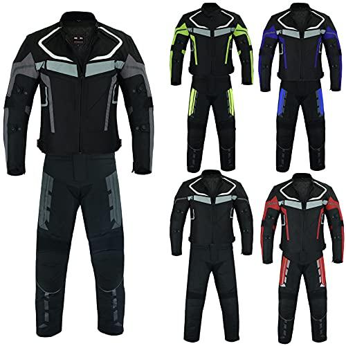 Motorbike Suit   Waterproof Armoured Motorcycle Suit 2-Piece Fully CE...