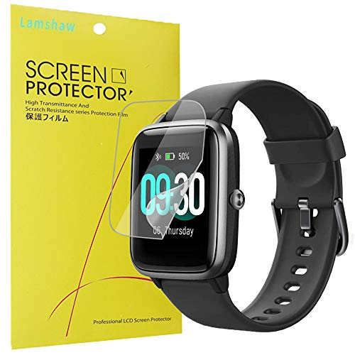 """ID205 Smartwatch Screen Protector, Youkei [6 Pack] TPU Clear Film for SKYGRAND/Letsfit/ANBES/Arbily/KUNGIX/LETSCOM/Fitpolo/YAMAY/Willful Smartwatch1.3"""" Smartwatch (6 PACK)"""