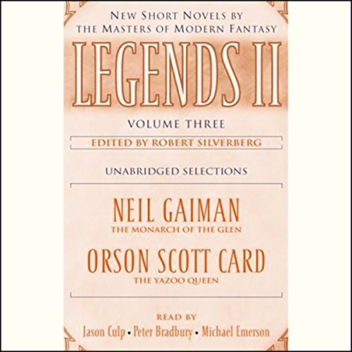 Legends II, Volume Three audiobook cover art