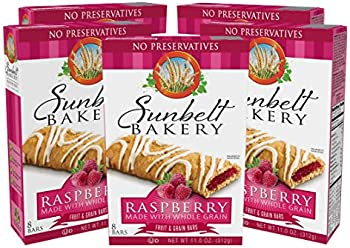 40-Count Sunbelt Bakery's Raspberry Fruit & Grain Bars