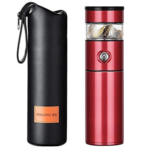 Thermos à thé en acier inoxydable 316 - 500 ml - Rouge