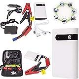 Tragbare Auto-Starthilfe (bis zu 7,2 l Benzin, 5,5 l Dieselmotor) 12 V 20000 mA Power Pack Auto-Batterie-Booster mit eingebautem LED-Licht, tragbare Powerbank mit USB-Schnellladung