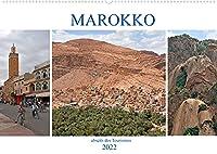 MAROKKO, abseits des Tourismus (Wandkalender 2022 DIN A2 quer): Ein faszinierendes Land mit traumhaften Landschaften und einer langen Geschichte (Monatskalender, 14 Seiten )