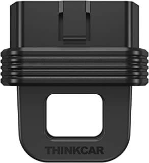 Thinkcar Bluetooth obd2 scanner Car Check Engine Code Reader 10 OBDII Test Modes Full-Systems Real-time Remote Diagnostic Black Box OBD Data Recording Portable Scan Tool for iPhone & Android, Small