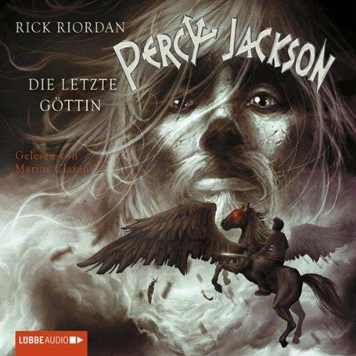 Die letzte Göttin (Percy Jackson 5) audiobook cover art
