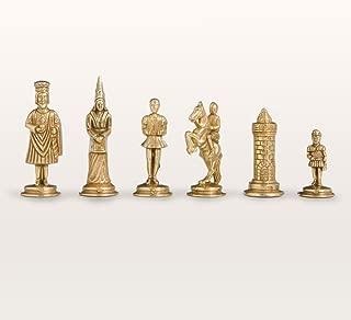 Gothic Fantasy Metal Chess Pieces