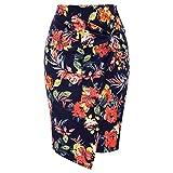 Kate Kasin Faldas Fiesta Midi Faldas Ajustadas Fiesta Faldas Mujer Elegantes Cintura Alta