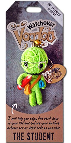 "Watchover Voodoo- The Student, Multicolor, 4"" x 2"" x 1.5"""