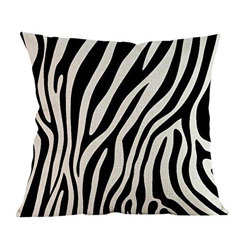 Matefield - Federa per cuscino con stampa zebrata B