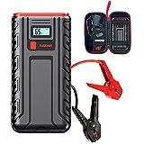 7HAHA3 Arrancador Portátil para Automóvil 30000 MAh Amplificador de Batería para Vehículos Camiones y SUV (hasta 8 litros de Motor de Gasolina/Diésel) con Carga Rápida USB