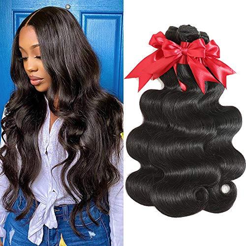 10A Brazilian Hair Body Wave Bundles Hair Weave Human Hair Bundles Unprocessed Virgin Human Hair 3 Bundles (30 30 30)