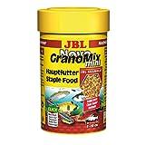 JBL Alleinfutter para pequeños peces de acuario, granulado, NovoGranoMix