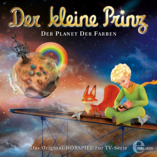 Der Planet der Farben (Der kleine Prinz 18) Titelbild