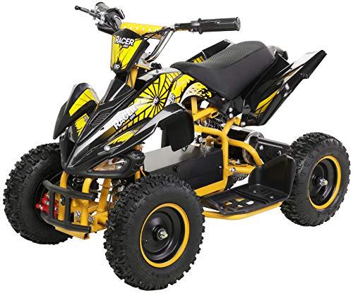 Actionbikes Motors - Miniquad eléctrico para niños (800 W, 36 V, sistema...