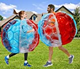 Inflatable Bumper Balls, PETUOL 2PCS 36in Christmas Holiday Buddy Bumper Ball for Adults, Kids Games...