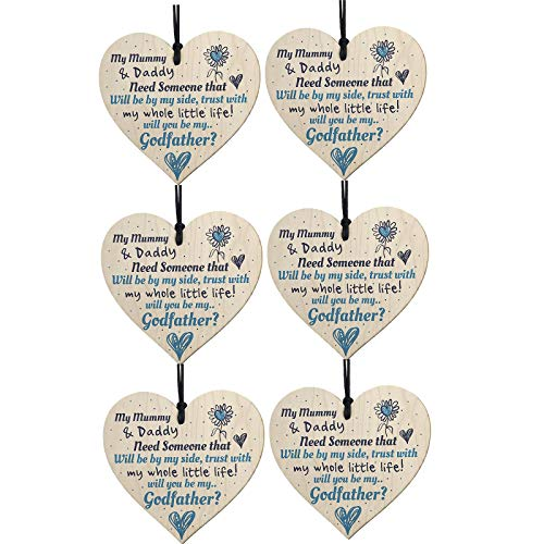 Seguire Mother's Day Wooden Love Pendant Decorations Creative Lovely DIY Crafts Hanging Ornaments Wooden Love Pendant Wooden Plaque Personalised Home Love Gifts Decoration