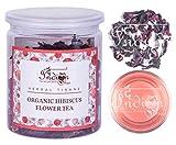 The Indian Chai - Organic Hibiscus Flower Tea 50g   Herbal Tisane   Reduces Blood Sugar   anti estrogens May, 2021