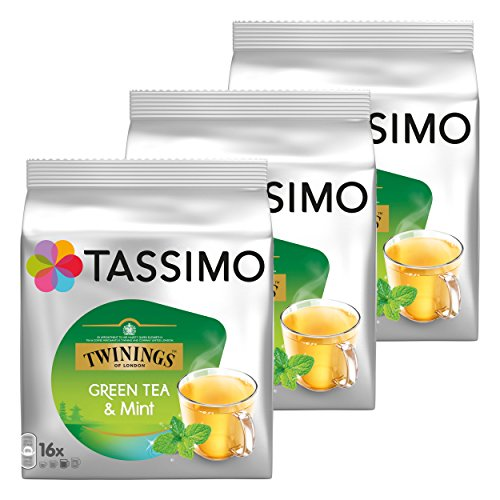 Tassimo Tea Time Green Tea & Mint, 3er Pack