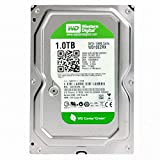 WD Green 1TB Desktop Hard Drive: 3.5-inch, SATA 6 Gb/s, IntelliPower, 64MB Cache. 1 TB capacity holds up to 200,000 digital photos, 250,000 MP3 files, and 120 hours of HD video. WD Green hard drives reduce power consumption by up to 40% and offer bes...