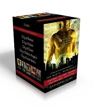 Paperback The Mortal Instruments : City of Bones; City of Ashes; City of Glass; City of Fallen Angels; City of Lost Souls Book