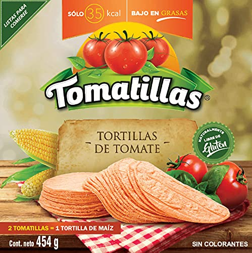 Tortillas Mission marca TOMATILLAS