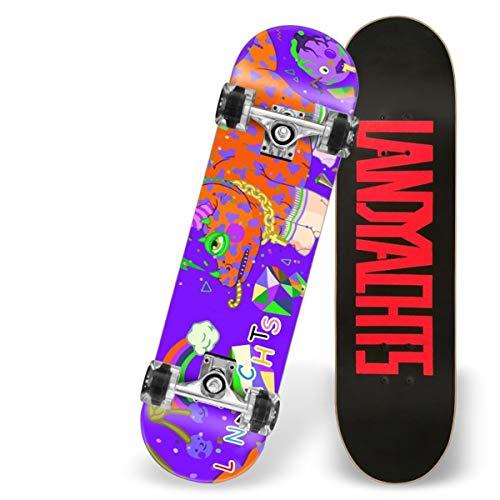 Love your life Anfänger Skateboards Komplette 31 Zoll Anime Nette Drache-Skateboard