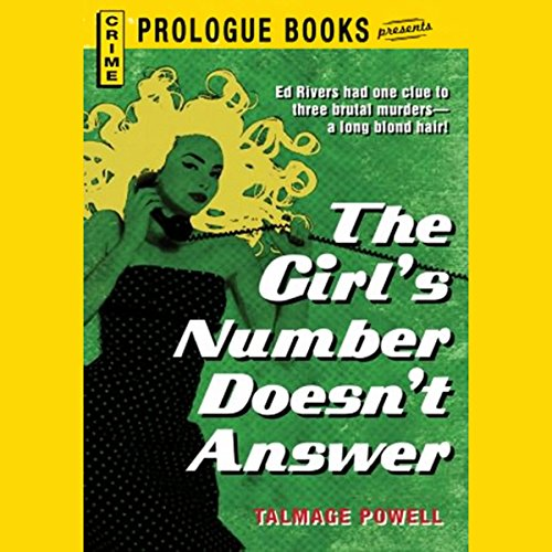 The Girl's Number Doesn't Answer audiobook cover art