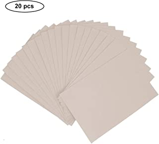 Life Glow 20 Pieces A4 Size Self-Adhesive Back Felt Sheets, Velvet Sheets with Sticky Glue Back, 7.8x11.8