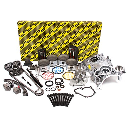 Evergreen OK3027M/2/2/2 Fits 95-98 Nissan 240SX 2.4L DOHC KA24DE Master Overhaul Engine Rebuild Kit