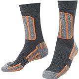 FLM Socken Sports Socken kurz 1.1 orange 41-45, Unisex, Multipurpose, Ganzjährig, Textil, schwarz