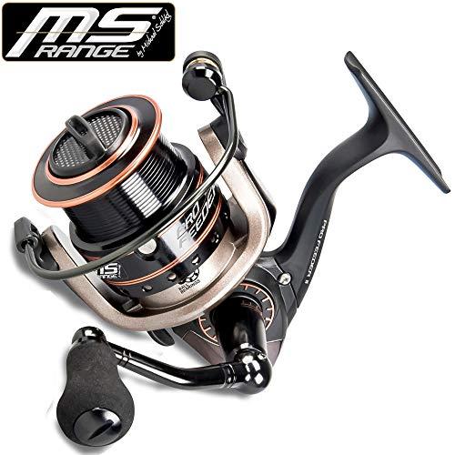 MS Range Pro Feeder II 3500 - Feederrolle zum Friedfischangeln, Angelrolle zum Feederangeln auf Friedfische, Stationärrolle