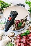 BRA Allure Schnellkochtopf-Set, 4+6 Liter, Edelstahl, für alle Herdarten geeignet, auch Induktion [Exklusiv bei Amazon] - 11