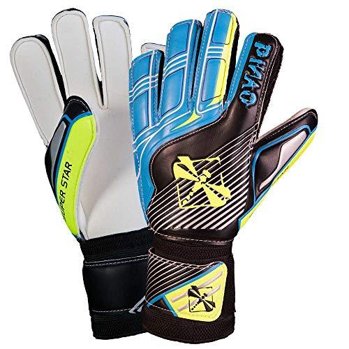 PiNAO Sports - Torwarthandschuh, Größe 6-8 [Fußballhandschuhe, Kinder, Fingerschutz, Fingersave] (6)